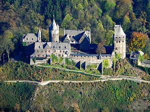 Adolf I, Count of the Mark - Castle Altena in Altena. First residence of the Counts of Altena, the title and family name were later changed, by Adolf I, to La Mark