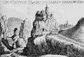 Burg Klamm und Schottwien, KS G.M. Vischer, 1672.png