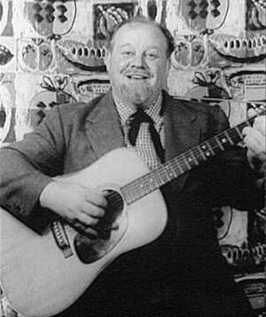 Contemporary folk music - Burl Ives