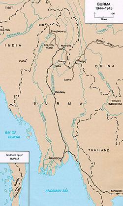 Burma and Ledo Road 1944 - 1945