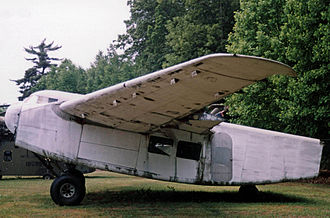 Burnelli CBY-3 - CBY-3 at the New England Air Museum at Windsor Locks, Connecticut, 2005