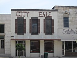 City Hall in Burnet