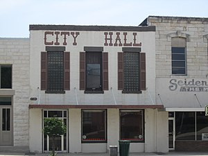 Burnet, Texas - City Hall in Burnet