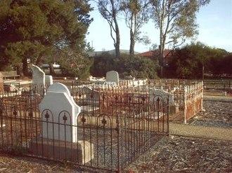 Paralowie, South Australia - Burton Primitive Methodist Cemetery in 2004
