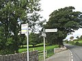 Bus Stop at Refail Newydd on the B5109 - geograph.org.uk - 1013122.jpg