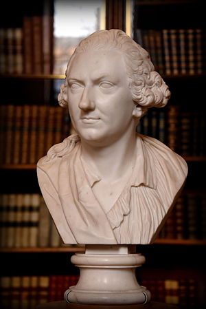 Charles Townley - Bust of Charles Townley (1735-1805 CE), by Christopher Hewetson, British Museum