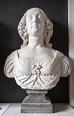 Bust of Elizabeth Peyto - St. Giles Church, Chesterton.jpg