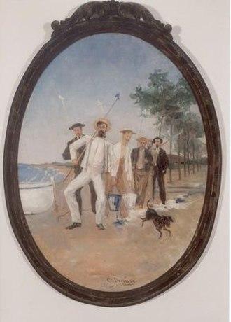 Maricel Museum - Càndid Duran. Els Pintamones, 1895