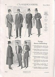 Western Dress Codes Wikipedia