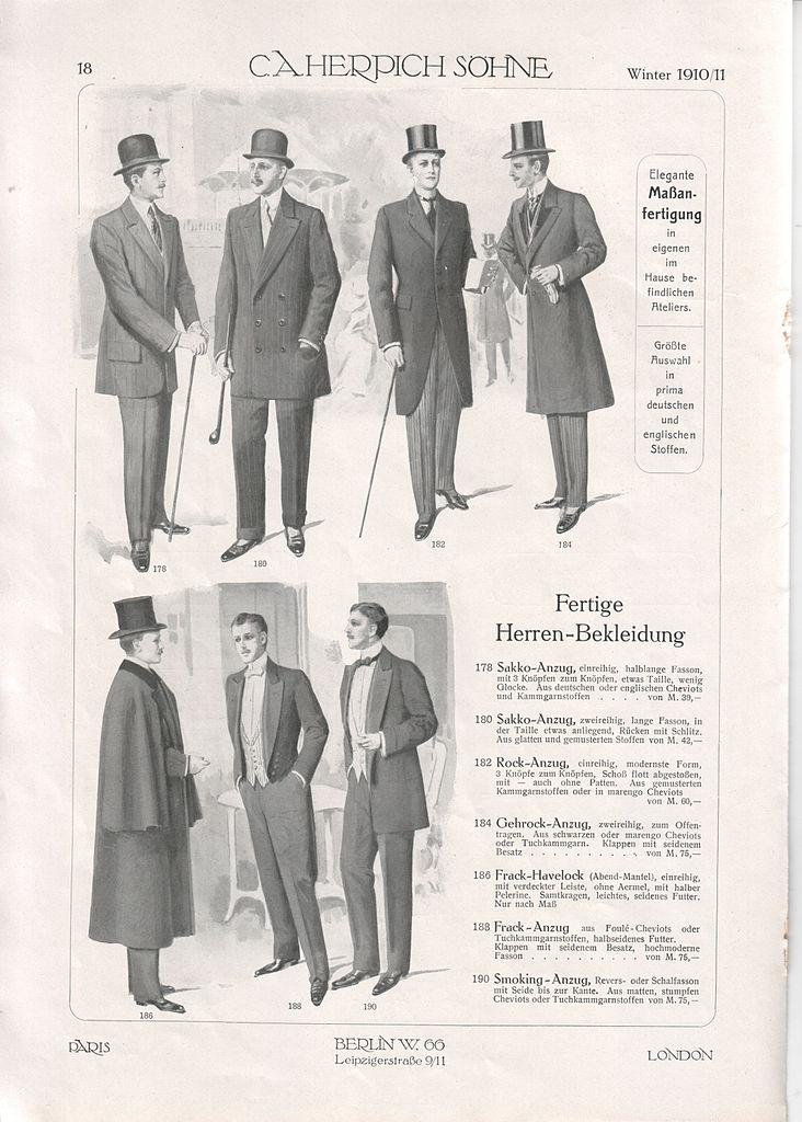 file c a herpich s�hne, berlin, modewaren 1910 (prospekt)18 jpg  Kleidung Mntel C 10_24 #7