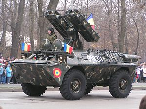 CA-95M SAM system during the Romanian National Day military parade 3.jpg