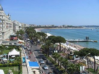 Cannes - The Promenade de la Croisette