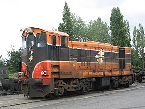 Railway Preservation Society of Ireland - 134 at Inchicore Railway Works