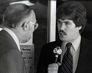 Jim Clancy (journalist) - Clancy in San Francisco, late 1970s