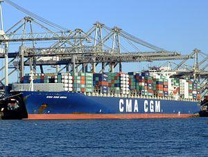 CMA CGM Norma IMO 9299812, Port of Rotterdam, Holland, 06JAN2009 pic3.JPG
