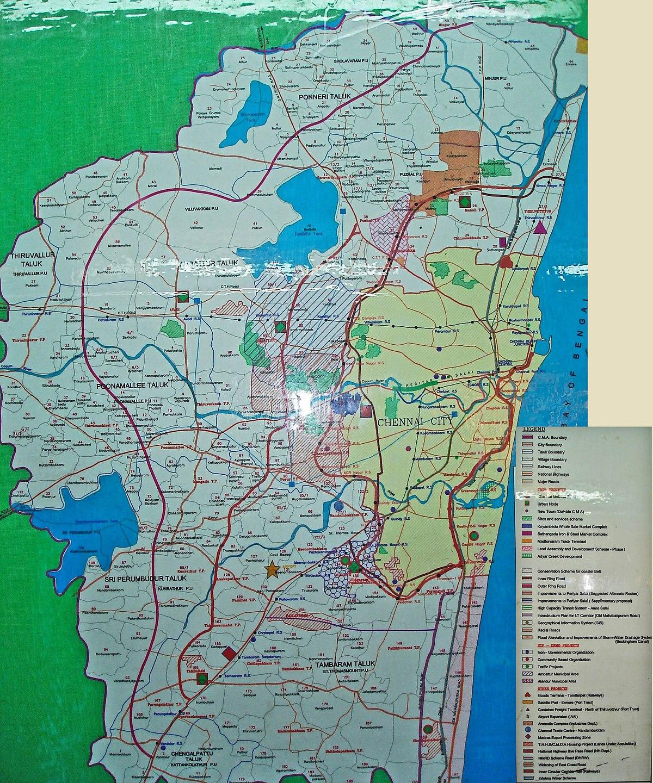 Chennai metropolitan development authority wikipedia for Planning on line