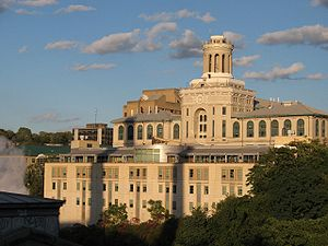 Tepper School of Business - View of Hamerschlag Hall at Carnegie Mellon University