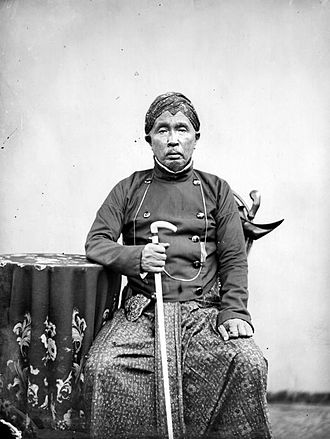 Cilacap Regency - Regent of Tjilatjap