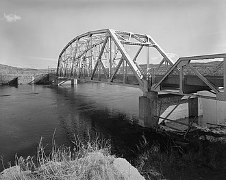Bighorn River - The CQA Four Mile Bridge over Bighorn River
