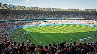1977 Copa Libertadores Finals - Image: CRI ENG 24 06 2014 9637