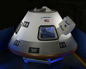 CST-100 Starliner - CST-100 crew mock up