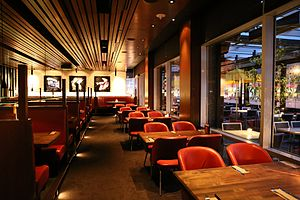 Cactus Club Cafe - The interior of a Cactus Club Cafe location in Edmonton