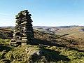 Cairn, Sundhope Height. - geograph.org.uk - 328615.jpg