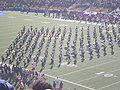 Cal Band performing pregame at 2008 Big Game 06.JPG