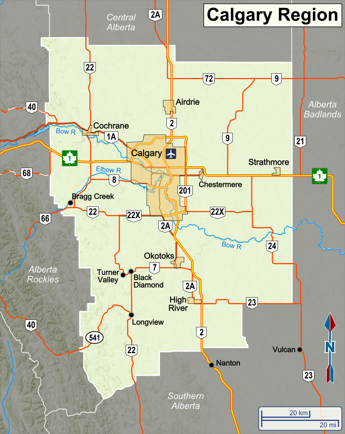 Calgary Region Travel Guide At Wikivoyage