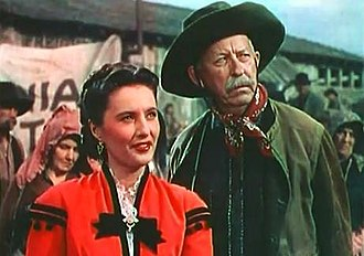 Will Wright (actor) - Barbara Stanwyck and Will Wright in California (1947)