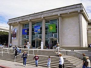 California Academy of Sciences - Academy of Sciences in 2003, two years before reconstruction began