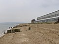 Calshot beach alongside the Activity Centre - geograph.org.uk - 210692.jpg