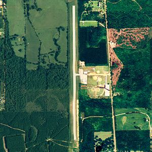 Camden Municipal Airport - NAIP aerial image, September 2006
