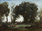 Camille Corot - A Morning. The Dance of the Nymphs - Google Art Project.jpg