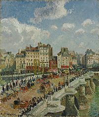 The Pont-Neuf, Sunlight (Second Series)