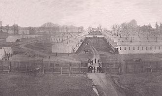 Camp Joe Holt - Camp Joe Holt, full view - 1862