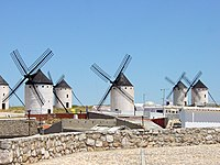 Windmills of La Mancha - original wind powered homes