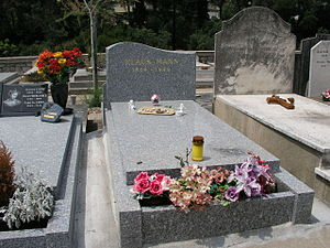 Klaus Mann - Klaus Mann's tomb