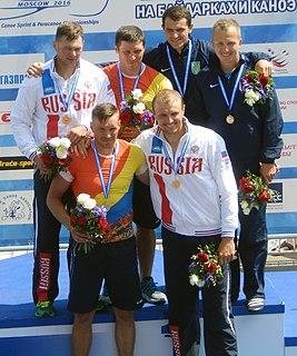 Viktor Melantyev Russian Canoeist