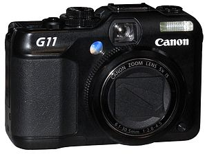 Canon PowerShot G11 digital compact camera