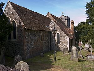 Church of England parish church - St Martin's Church, Canterbury