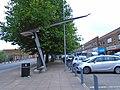 Cantilever streetlamp, Garston.jpg