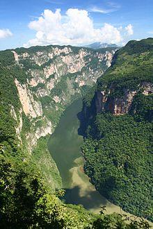 EL CAÑON DEL SUMIDERO  220px-Canyon_sumidero_desde_arriba