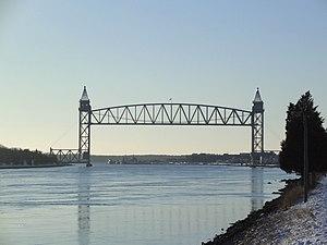 Cape Cod Canal Railroad Bridge - Cape Cod Canal Railroad Bridge in 2005