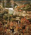 Cappella dei magi, corteo con giuliano de' medici e giuseppe patriarca di costantinopoli.jpg