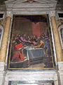 Cappella serragli, santi di tito e tiberio titi, comunione degli apostoli.JPG