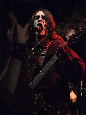Carach Angren - Seregor, band's lead vocalist and guitarist