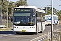 Carbridge (TV 5177) Volgren 'CR228L' bodied Mercedes-Benz O500LE on Ross Smith Ave at Sydney Airport (1).jpg