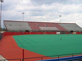 Old Cardinal Stadium - Football stands, 2008