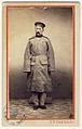 Carol Popp de Szathmáry - Dimitrie Pappasoglu, Portret în picioare, în uniformă militară.jpg